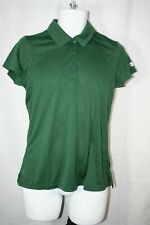 942X08 Champion Cv70 Womens Vapor Collared Polo Shirt Medium Green