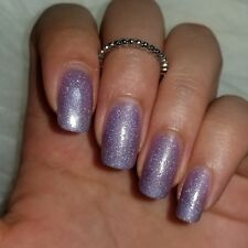 Purple holographic Shiny Nail Polish 15ml 5-free handmade vegan cruelty-free
