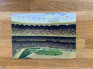 USA US 2001 POSTAL CARD MINT BASEBALL STADIUMS YANKEE NEW YORK CITY