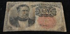 1874 United States Fractional 10 Cents Note in VG Condition Nice Collectible!