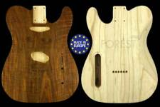 TELECASTER rear routed body Electric guitar Swamp Ash / rare flamed Walnut top