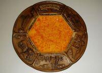 VINTAGE DISNEYLAND TREASURE DISH PLATE HAUNTED MANSION MARK TWAIN JUNGLE CRUISE