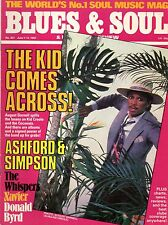 Kid Creole Blues & Soul Iss 357 1982 Ashford & Simpson The Whispers Xavier Aurra