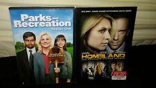 Parks and Recreation: Season 1 (2009) &  Homeland: Season 3 (2012)-