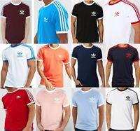 Adidas Originals Men's California Retro Design Tee Trefoil Logo T-shirts Gift