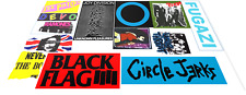 More details for red hot chili peppers flea psycho bass guitar vinyl sticker decal set