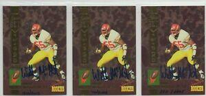 1994 Signature Rookies Willie McGinest AUTO RC lot New England Patriots HOF USC