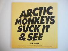 ARCTIC MONKEYS : SUCK IT & SEE || CD SINGLE ~ PORT GRATUIT !