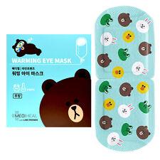 MEDIHEAL X LINE FRIENDS Warming Eye Mask 20g 10PCS Unscented Fatigue, Moist