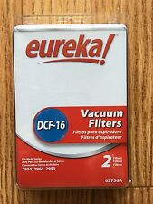 New Genuine Eureka DCF-16 Filter 62736A - 2 filters