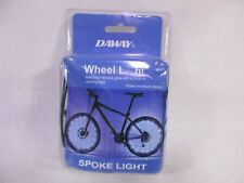 DAWAY Blue Led Bike Wheel Light - A01 Waterproof Bright Bicycle Tire Light Strip