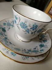 Complete Colclough Bone China Tea Set (Teacup,saucer,plate) - Braganza 18pc set