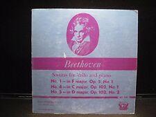 JANOS STARKER BEETHOVEN SONATAS FOR CELLO & PIANO PERIOD SPL 561-RECORD