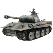 2.4Ghz Radio Control 1/16 German Panther Airsoft Battle Tank w/Smoke & Sound RTR
