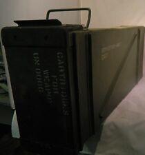 """Ammo can storage box 12.3""""x6.2""""x31.7 """" Pa154 F/120Mm Mortar Cart. W/Lid M015"""