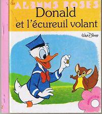 Donald et l'écureuil volant * Albums roses * Walt Disney * copyright 1965