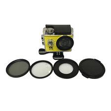 52mm CPL Circular Polarizer Filter UV Lens Cover for Eken V8S H9 h9r h8r h8pro
