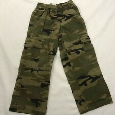 The Childrens Place Cargo Pants Boys 5 Cargo camouflage Pull On pants