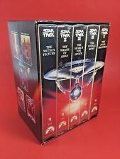 Star Trek The Movies 25Th Anniversary Collection Vhs Tapes Gift Set Motion Pictu