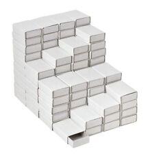 100 Streichholzschachteln weiß Schachtel leer blanko VBS Großhandelspackung