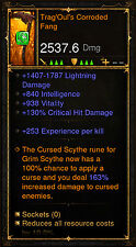 Diablo 3 RoS XBOX ONE [SOFTCORE] - Ancient Necromancer Trag'Oul's Corroded Fang