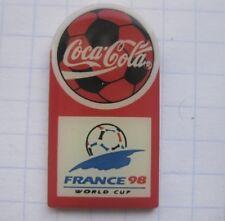 COCA-COLA FIFA WM 98 FRANCE  / FUSSBALL  ...... Sport-Pin (164a)