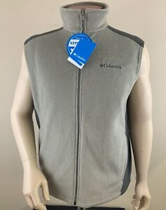 COLUMBIA Men's Steens Mountain Fleece Vest Size L NWT