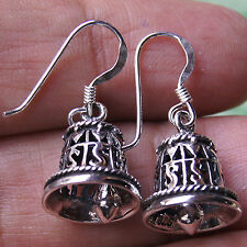 CHARMS BELL EARRINGS STERLING SILVER