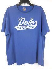 Ralph Lauren Polo Bali Blue Athletic Division Gym Custom Slim Fit XL Shirt NWT