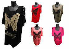 New Ladies  Plus Size Summer 2015 Butterfly Batwing Top 14, 16, 18, 20, 22, 24