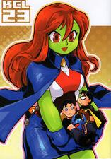 Young Justice Teen Titans GAG Doujinshi Comic Robin Martian Superboy KCL23