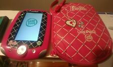 Leapfrog LeapPad2  Educational Learning System Barbie Edition + Case