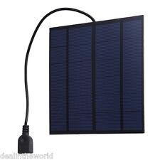 SUNWALK 3W 5V Silicon Solar Charger Panel Outdoor Travel Portable Power Bank