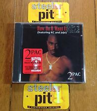 RARE~2PAC~HOW DO YOU WANT IT~CALIFORNIA LOVE~OG SEALED~CD~w/STICKER~NO REISSUE!