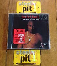 RARE 2PAC~HOW DO YOU WANT IT~CALIFORNIA LOVE OG SEALED CD~w/STICKER~NO REISSUE!