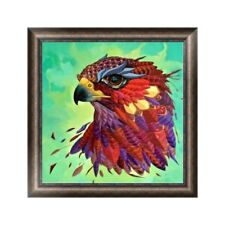 DIY 5D Eagle Animal Diamond Embroidery Painting Cross Stitch Craft Home Decor