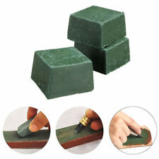 3x Green Leather Strop Sharpening Polishing Compound Leathercraft Abrasive Tool