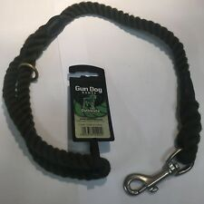 GUN DOG SLIP LEAD BY OUTHWAITE. 12MM X 39MM. COLOUR: OLIVE. CODE. DC81510