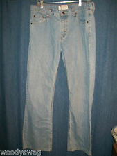Levi Strauss Jeans Size 12 Misses Med 88% Cotton Legs Tag Low Rise Boot Cut