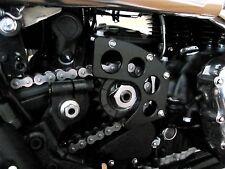 Triumph Bonneville, Thruxton, America Custom Aluminum Sprocket Cover- Black