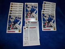 Lot of 15 - 1991-92 Upper Deck #452 Stephane Fiset SR : Quebec Nordiques