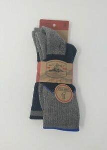 Gold Toe Urban Hiker Midweight Boot Socks Mens Size Large - 2 Pairs
