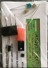 psu repair kit LC-60LE741, DPS-162KP A/B / RUNTKA932WJQZ