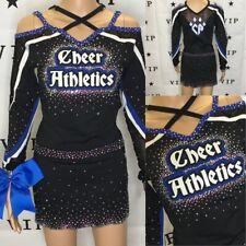 Real Cheerleading Uniform Allstars Cheer Athletics DRESS Adult Med