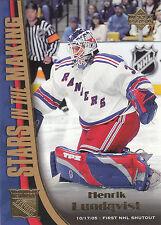 05-06 Upper Deck Henrik Lundqvist Stars in the Making