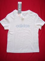 ADIDAS Tee Shirt fillette neuf manches courtes taille 8 ans coloris blanc