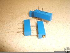 19mm trimmer multigiro di CERMET Pentola RESISTORE 100R 4pk