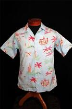 "VERY RARE COLLECTABLE LATE 1930'S-1940'S COTTON ""KIHI KIHI"" HAWAIIAN SHIRT SZ s"