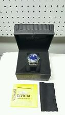 Invicta Reserve 10092 Specialty Subaqua Swiss Made Day Date Leather Mens Watch
