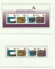 2014 AUSTRALIAN DEFENCE FORCE A CENTURY OF SERVICE STAMP PACK M.N.H. BARGAIN